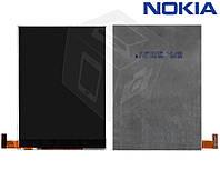Дисплей (LCD) для Nokia Asha 500 Dual Sim, оригинальный