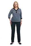 Женские  брюки большого размера рубчик 1612005