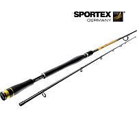 Удилище спиннинговое Sportex Black Pearl BR 1800. 1,80 m. 2-10 g NEW!!! (код 163-223771)