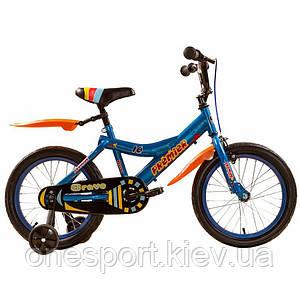 Велосипед детский Premier Bravo 16 Blue (голубой) 2015 (код 160-225738)