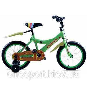Велосипед детский Premier Bravo 16 Lime (лайм) 2015 (код 160-225739)