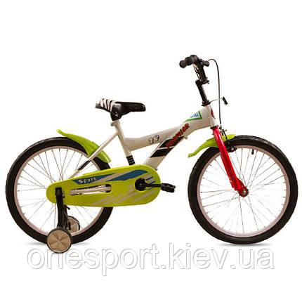 Велосипед детский Premier Sport white 20 (белый) 2015 (код 160-225785), фото 2