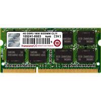 Модуль памяти SoDIMM DDR3 4GB 1600 MHz Transcend (TS512MSK64V6H)
