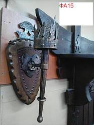 Фонарь - факел кованый