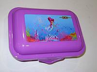 Контейнер для еды, ZB.3050-07 138*104*54 мм, фиолетовый