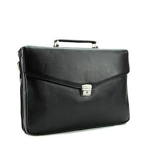 Невероятно практичный деловой мужской кожаный портфель