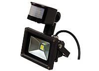Светодиодный прожектор с датчиком движения LP 10W, 220V, with MS Econom