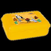 Контейнер для еды, ZB.3050-08 138*104*54 мм, желтый