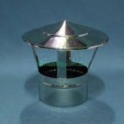 Грибок, кагла, флюгер для одностеных  дымоходов из нержавейки марки AISI 201