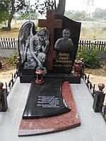 Памятник с фигурой ангела № 400
