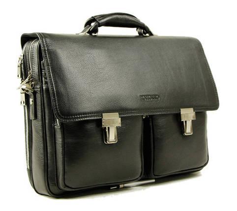 Добротный кожаный портфель от Итальянского бренда, фото 2