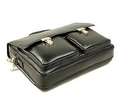 Добротный кожаный портфель от Итальянского бренда, фото 3