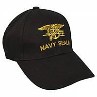 Кепка Baseball Cap Navy SEALS Black