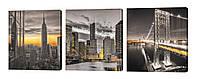Модульная картина 276 Городские мотивы 1