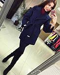 Женское демисезонное кашемировое пальто (расцветки), фото 3