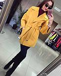 Женское демисезонное кашемировое пальто (расцветки), фото 5