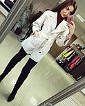 Женское демисезонное кашемировое пальто (расцветки), фото 8