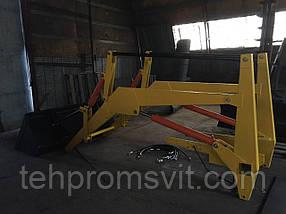 Фронтальный погрузчик купить Кун на трактор КУН 3.75-4.0 м