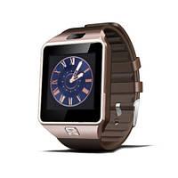 Smart watch DZ09 Gold для iOS/Android (смарт часы)