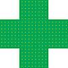 Светодиодный аптечный крест 500х500 двухсторонний