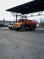 Изготовление и монтаж авто - наливной эстакады на три стояка для большегрузных бензовозов, используемых в резе
