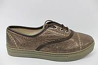 Женские кожаные слипоны на шнурках ТМ Max Mayar 39 р, фото 1