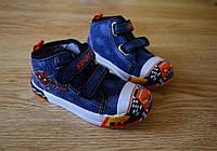Детская обувь Кеды для мальчиков джинс 21-26 р