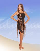 Платье для латини  ПЛ-259 (р.42)