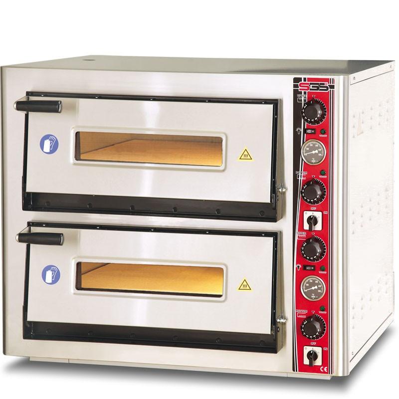 Печь для пиццы РО6262DE (4+4 пиццы) SGS