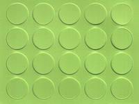 Конфирмат заглушка 13 мм зеленая лимонка ABS 776 самоклеющаяся  (20 шт)
