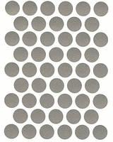 Конфирмат заглушка алюминий самоклеющаяся 5067 (50 шт) 14 мм