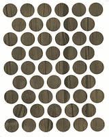 Конфирмат заглушка дуб шамони самоклеющаяся 0282 (50 шт) 14 мм