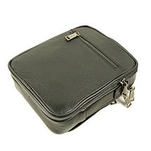 Практичная и удобная мужская кожаная сумка отличного качества, фото 3