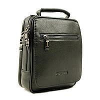Практичная и удобная мужская кожаная сумка отличного качества