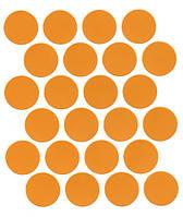 Минификс заглушка оранж самоклеющаяся 5292  (24 шт) 20 мм