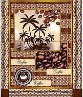 """Полотенце вафельное """"Coffee"""" (кухонное) в ассортименте, фото 1"""