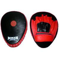 Лапы боксерские гнутые Boxer 7007 (код 236-250326)
