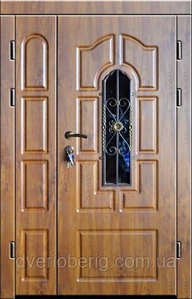 Входная дверь двух створчатая модель П3-249 vinoriy-90 КОВКА, фото 2