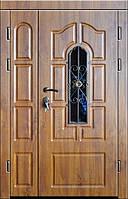 Входная дверь двух створчатая модель П3-249 vinoriy-90 КОВКА