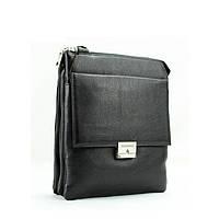 Деловая практичная мужская сумка из кожи от Итальянского бренда
