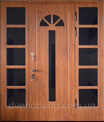 Входная дверь трех створчатая модель П3-1000 vinoriy-90 , фото 2
