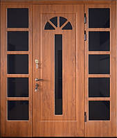 Входная дверь трех створчатая модель П3-1000 vinoriy-90