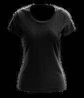 Футболка женская Amulet Premium Black (черная)