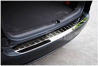 Защитная накладка на задний бампер Honda CRV 2013-