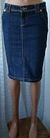 Юбка женская джинсовая джинс миди бренд Trf jeans Zara р.40 5677а