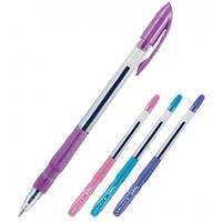 Ручка синяя,ʺAxentʺ ʺPrimeʺ№AB1025-02-A с цветным корпусом масляная (шариковая)