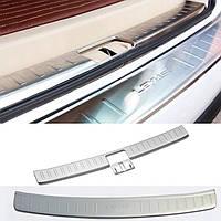 Защитная накладка на задний бампер Lexus RX350 2009-