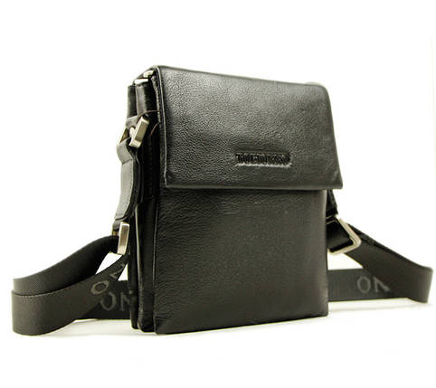 Функциональная и компактная мужская сумка из натуральной кожи, фото 2