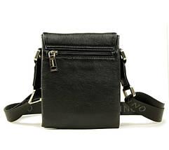Функциональная и компактная мужская сумка из натуральной кожи, фото 3