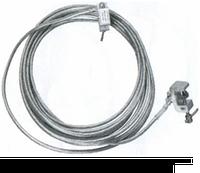Заземление для защиты пожарных машин  ЗППМ-1-1/1-В-16 (15м) со штырем